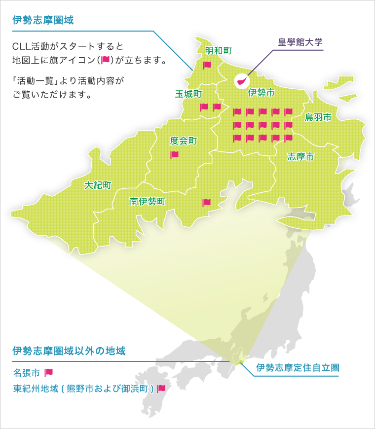三重県の市町村旗一覧 - JapaneseClass.jp